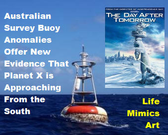 Australian Survey Buoy Anomalies Offer New Evidence That Planet X is Approaching From the South
