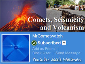 Troubling Trends for Comets, Seismicity and Volcanism