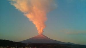 Popocatepetl Ash Plume
