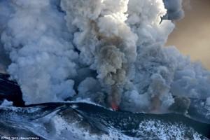 Kamchatka Volcano Erupts