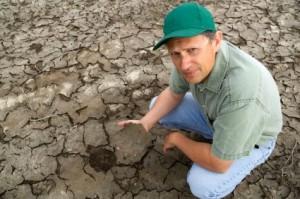 Drought Stricken Farmer