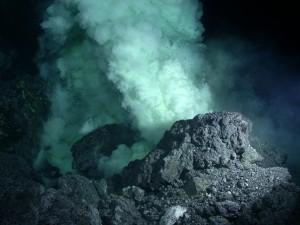 Deep Ocean Volcanic Vent