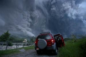 Colima Volcano Eruption, July 11, 2015