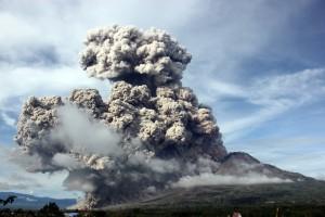 Mt. Sinaburg Indonesia Eruption September 2015