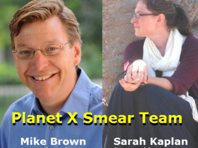 Planet X Smear Team - Brown and Kaplan