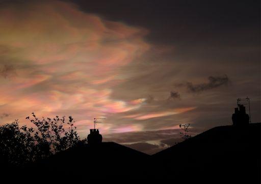 Nacreous Clouds 2/2/2016 Harrogate, UK