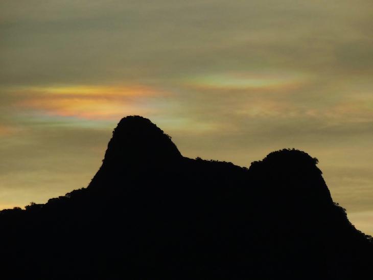 Rio de Janeiro, Brazil 1/1/2016 at Sunset