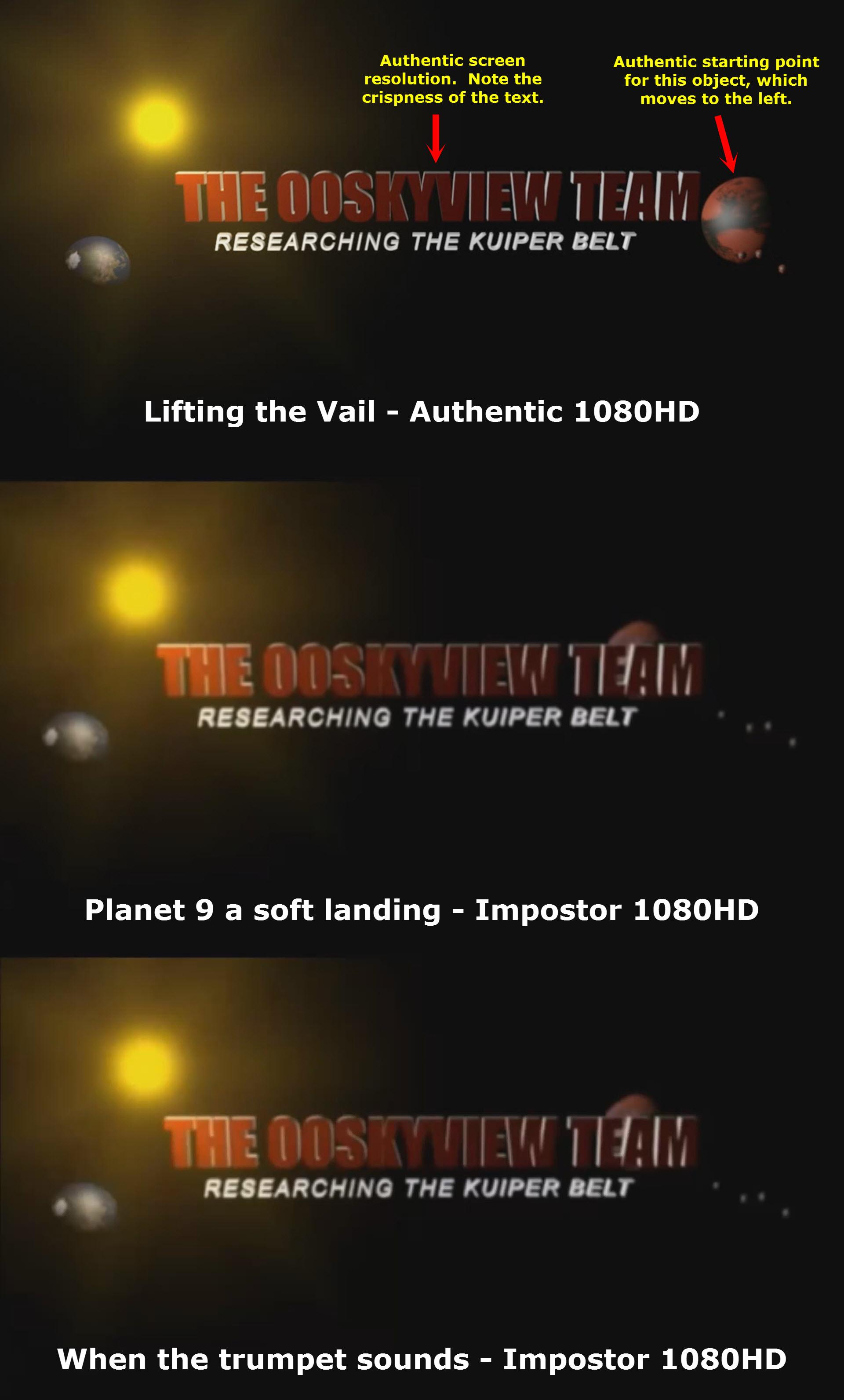 The 00Skyview Team – Authentic vs. Impostor
