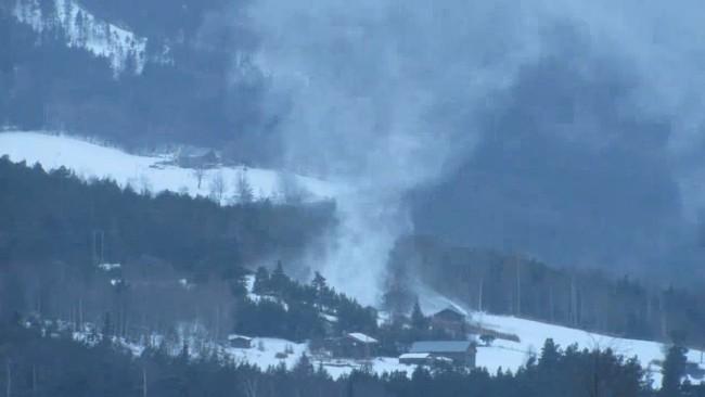03-2016 Norway Rare Snow Tornado