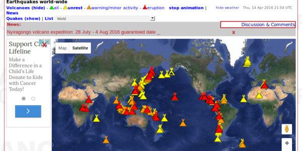 04-14-2014 Volcano Discovery Active Volcanoes