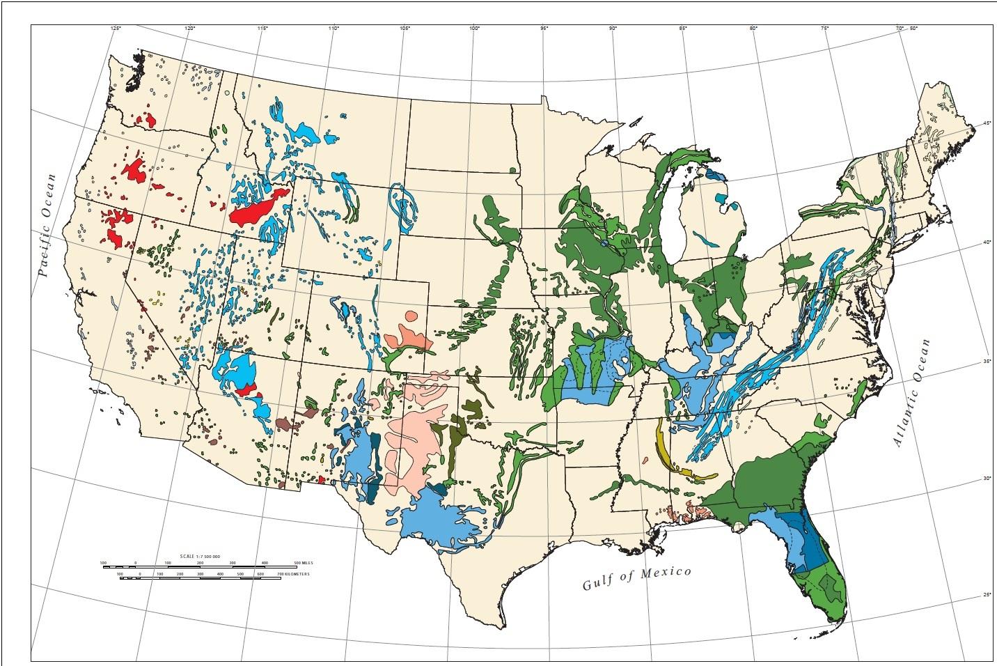 USGSmap-of-us-sinkhole-areas