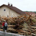 June 2, Bavarian Flood Debris