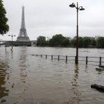 June 3, Paris Flooded