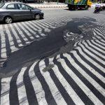 Melting Roads, India