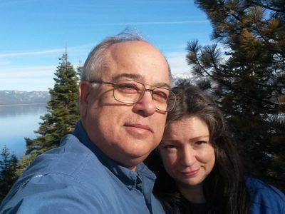 Marshall and Jennifer Masters at Lake Tahoe