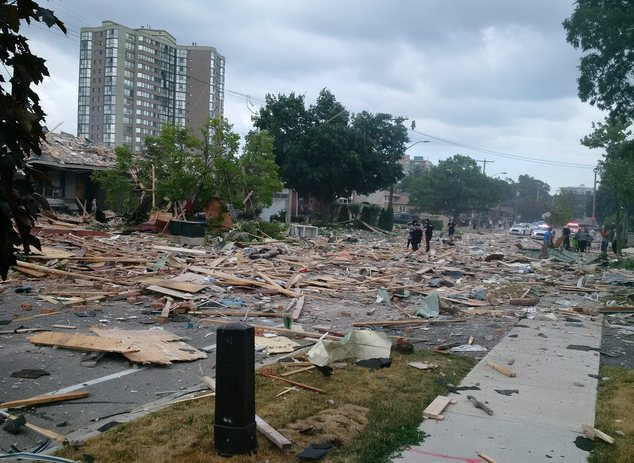 Canada House Explosion