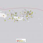 Puerto Rico Earthquake Swarm, Last 30 Days