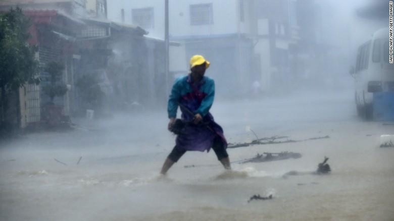 Super Typhoon Meranti Damage, Taiwan
