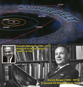 Kuiper Belt - Edgeworth and Kuiper