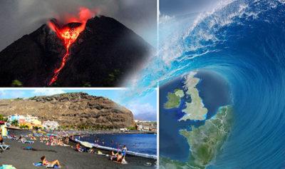 La Palma volcano eruption would trigger a MEGA TSUNAMI