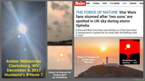 The Sun UK and Amber Williamson USA