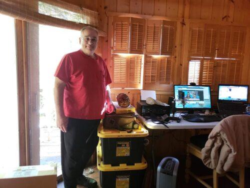 Marshall Sierras Cabin October-2018