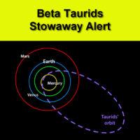 Beta Taurids Stowaway Alert