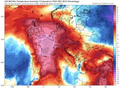 2019 Summer Heatwave in Europe