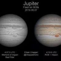 Jupiter Impact on August 9, 2019