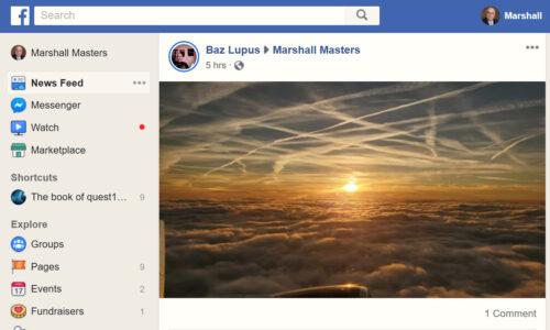 Bas Lups on Marshall's FB 3/17/20