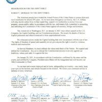 Memorandum Joint Chiefs