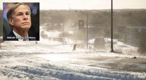 Texas Ice Storm Feb 2021