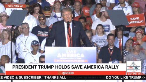 Trump 8/21/21 - Subdued Audience