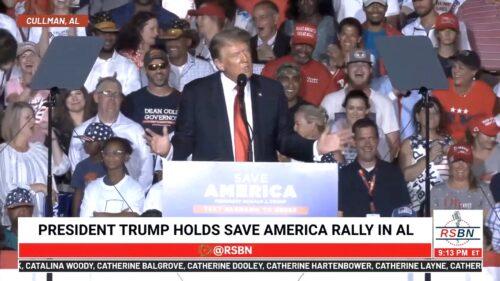 """Trump 8/21/21 """"Everthing woke turns to shit."""""""