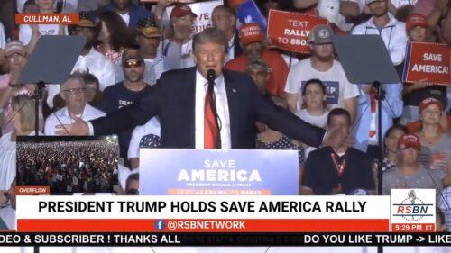 Trump Take the Vaccine - Alabama 8/21/21
