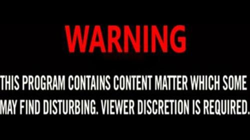 Dark web video warning